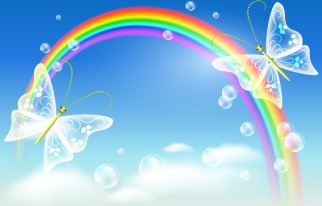 cartoon_rainbow_design_elements_vector_525941