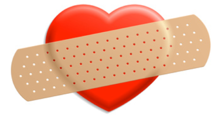 bandaid-on-heart